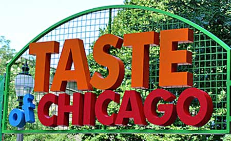 Taste of Chicago on WannabeTVchef.com