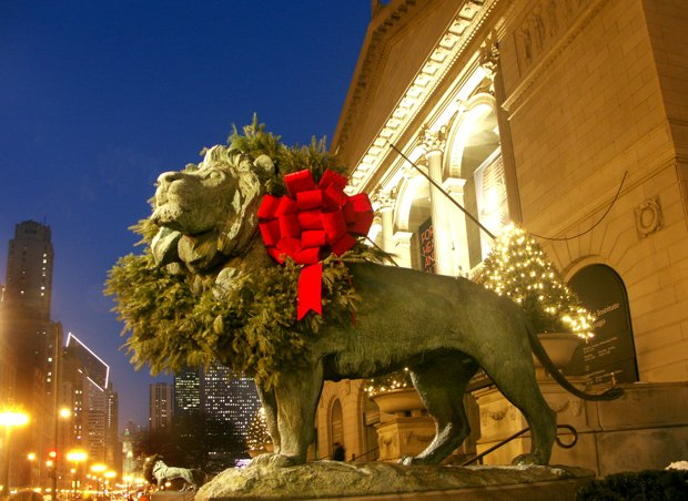 Check out the Post-Christmas Free Family Holly Days at the Art Institute of Chicago