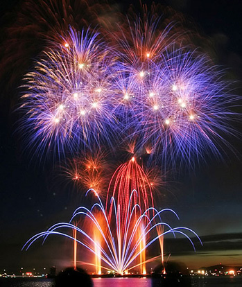 The Big List:  All the Free 2014 4th of July Fireworks in Chicago Area