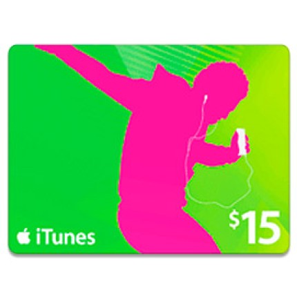 $10 itunes gift card  can get a $15 iTunes