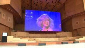 ginormous screen