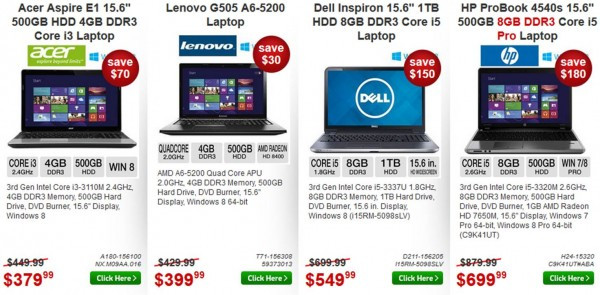 huge blowout computer sale