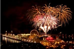 halloween fireworks chicago