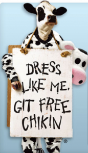 Chick-fil-a-FREE MEAL