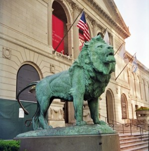 Art_Institute_of_Chicago_Lion_Statue