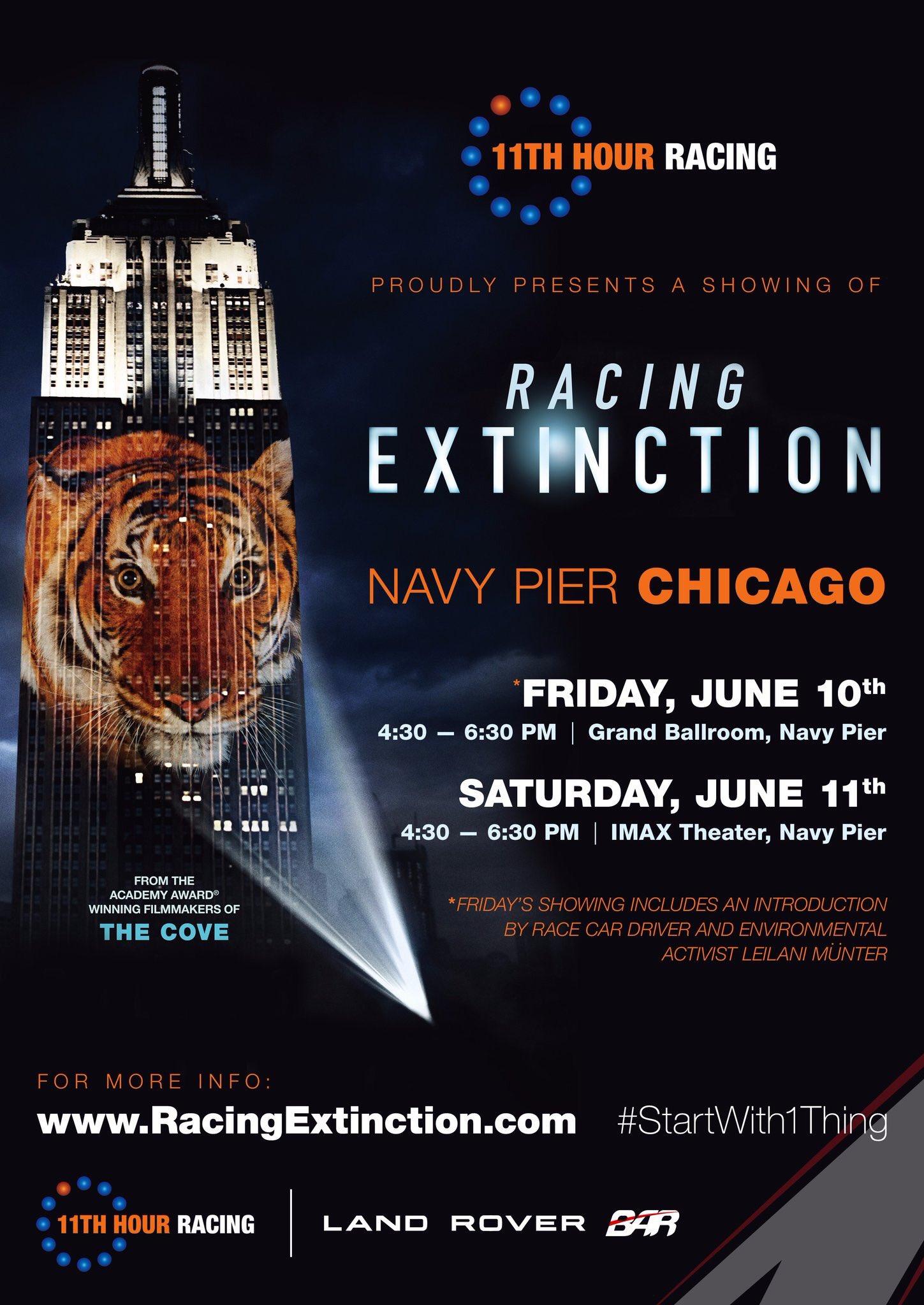 free movie screening racing extinction