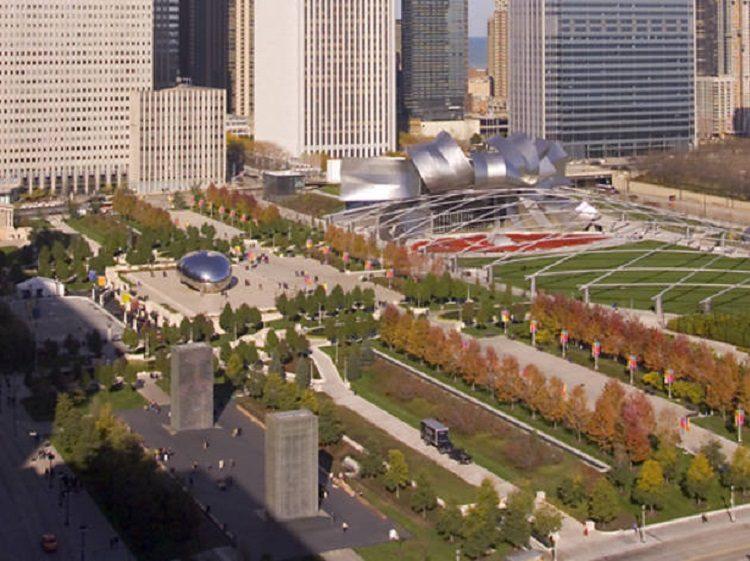 millennium park overhead