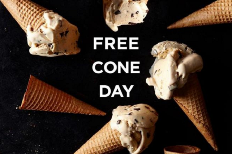 free ice cream haagen dazs may 9