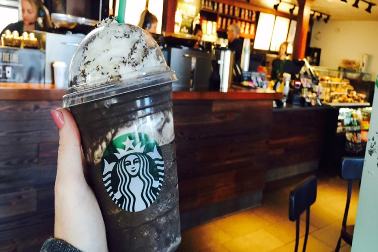 starbucks 50% off Frappuccino