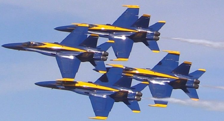 blue angels chicago