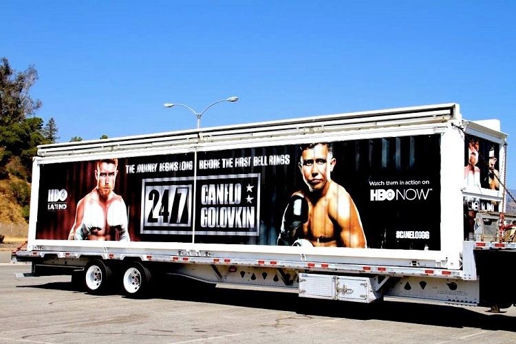 alvarez-golovkin trailer in Chicago FREE
