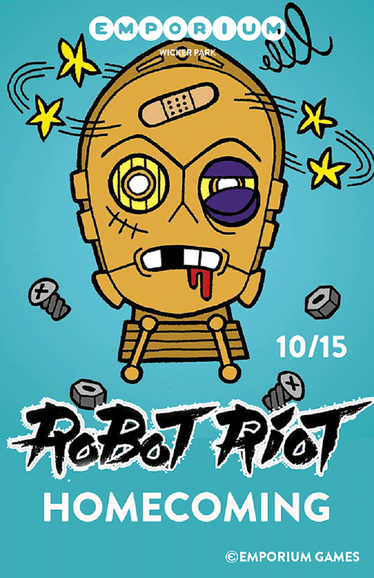 FREE robot riot chicago event