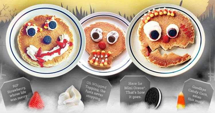 free halloween pancakes 2