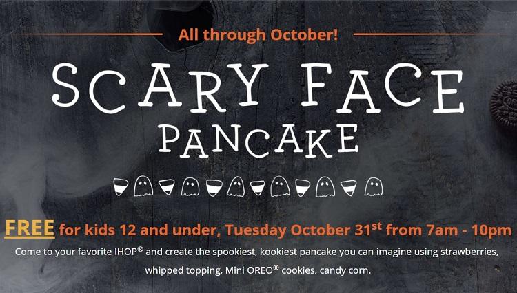 free halloween pancakes