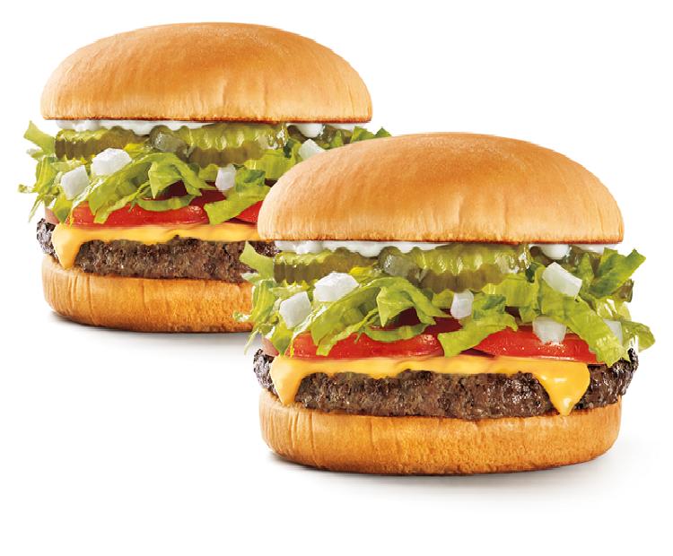 50 percent off cheeseburgers