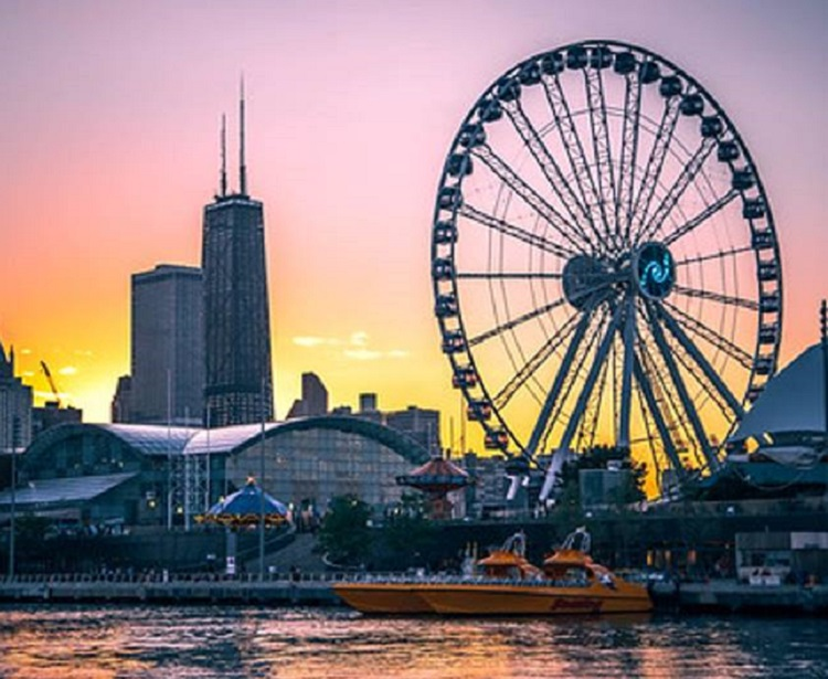 free ferris wheel rides chicago