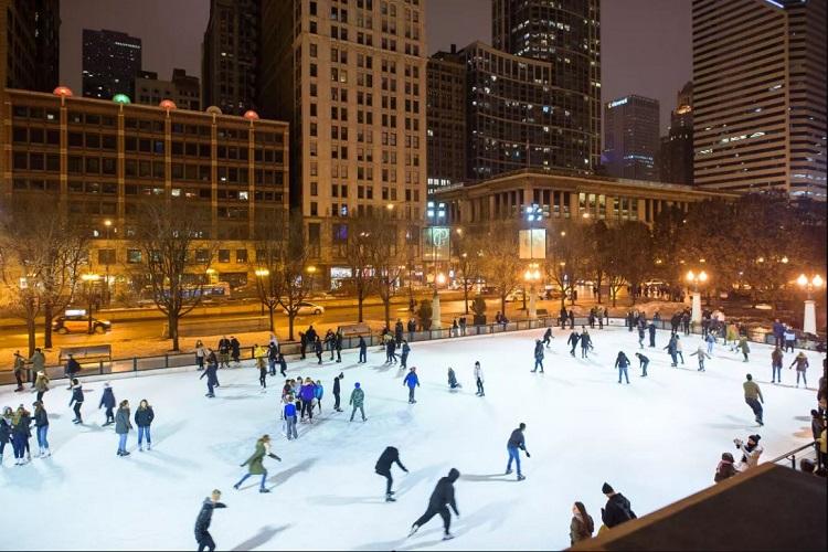 McCormick Free ice skating