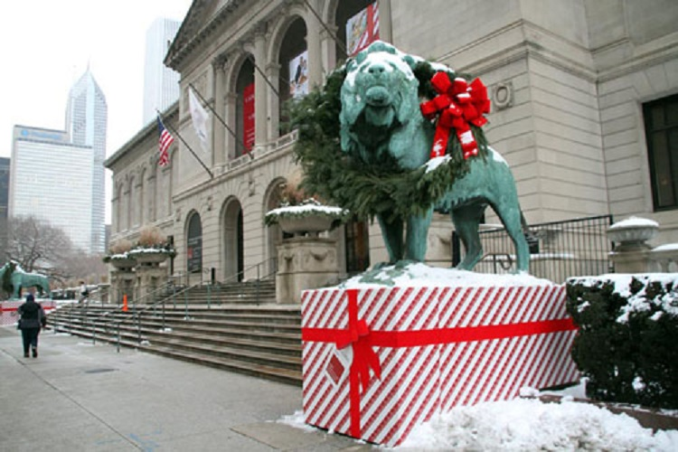 christmas at art institue of chicago