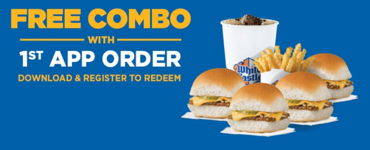 free combo at White-Castle-App