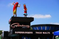 FREE hot dog from Superdawg