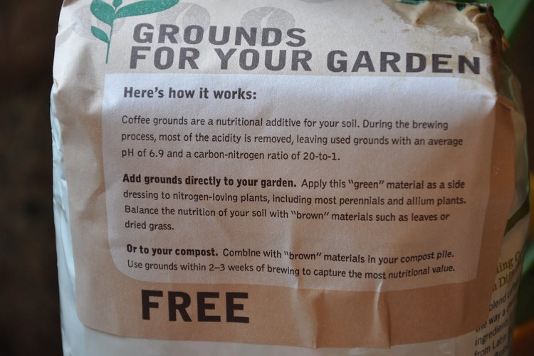 free coffee grounds starbucks