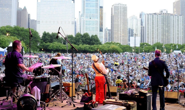 free concert millennium park 2018 d