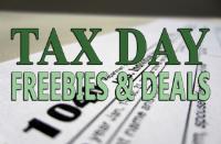 freebies on tax day april 17, 2018
