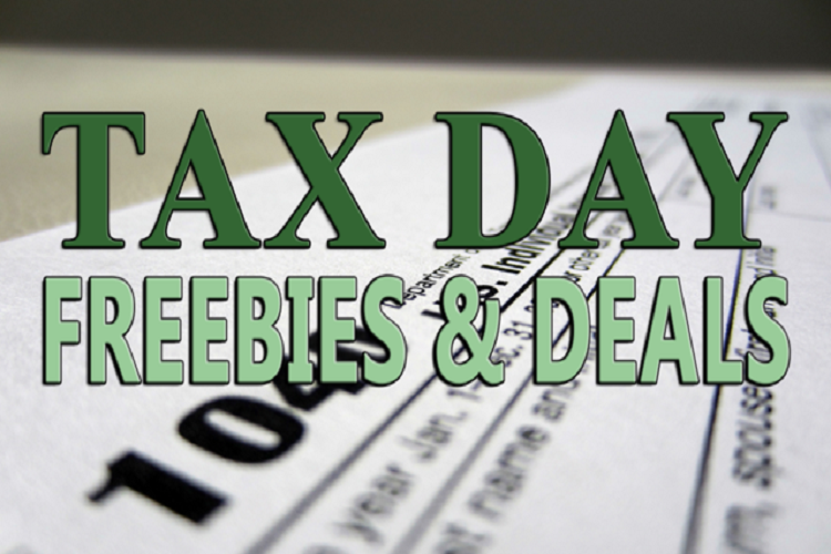 freebies on tax day april 17, 2018