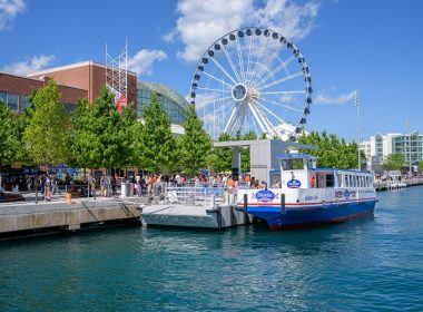 free rides on navy pier ferris wheel