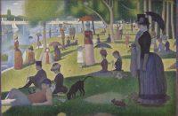 """Georges Seurat,"""" A Sunday on La Grande Jatte"""