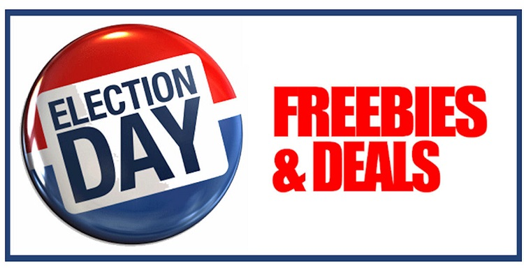 freebies on election day