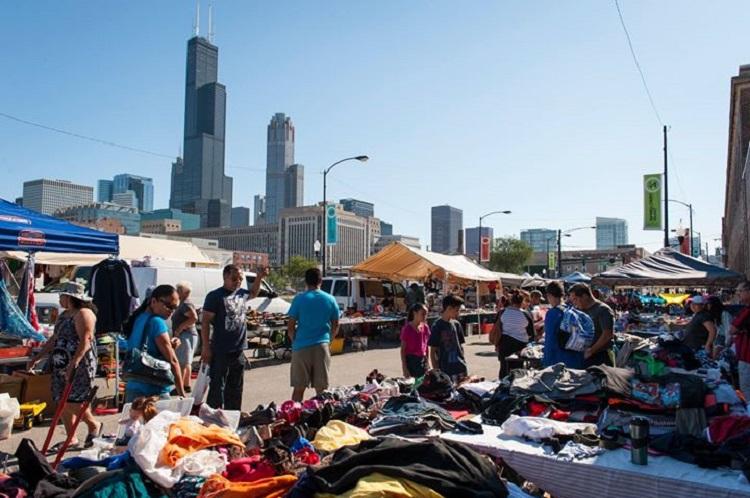 free events aT maxwell street market