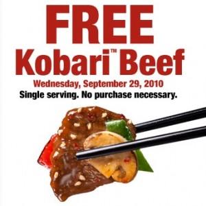 free-entree-Kobari-Beef chicago