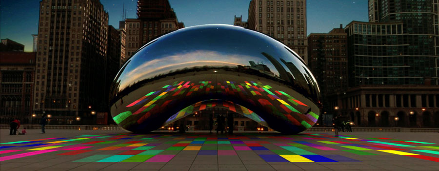 free light show - the bean