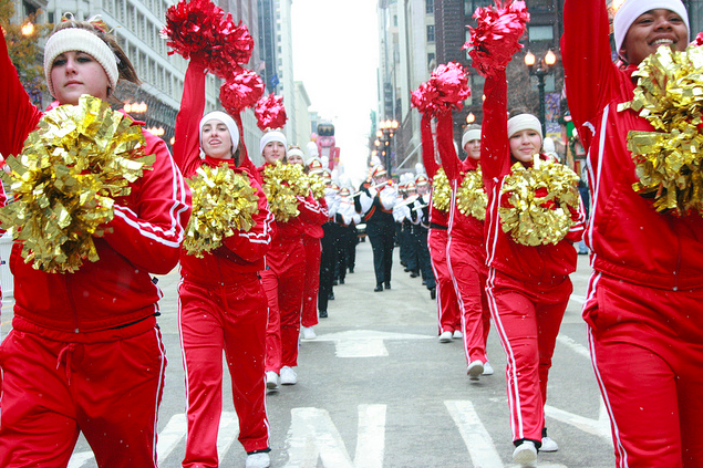 free thanksgiving parade in chicag