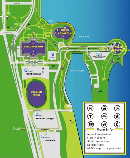 Museum Campus Map