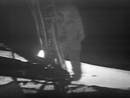 landing on moon