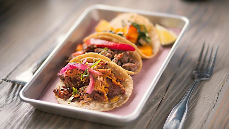 free tacos at rojo-gusano-central