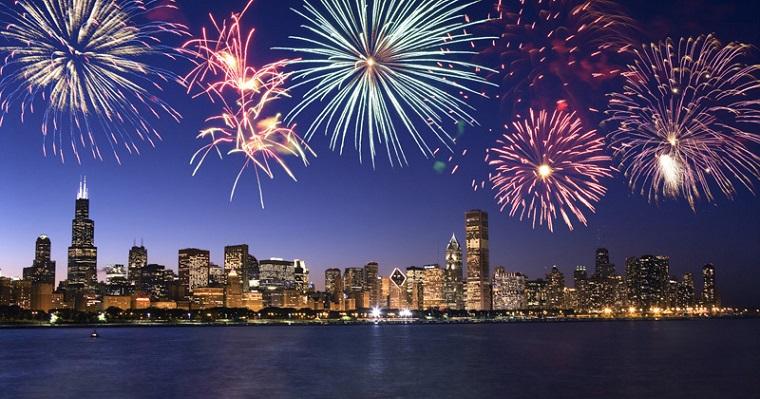 Chicago's fireworks