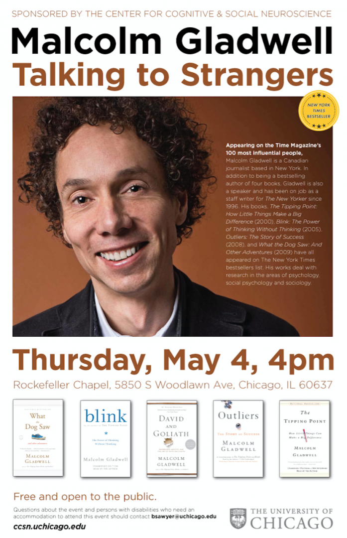 malcolm gladwell free chicago lecture