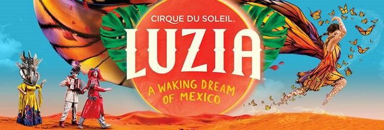 FREE cirque de soleil show_luzia