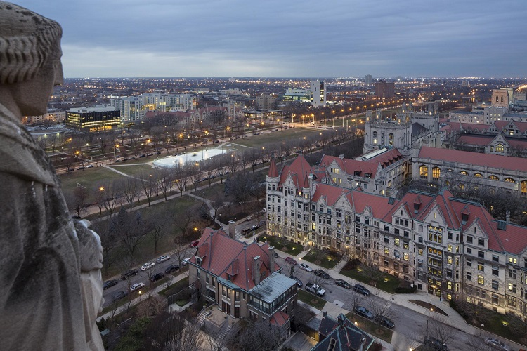 University of Chicago photo by Tom Rossiter