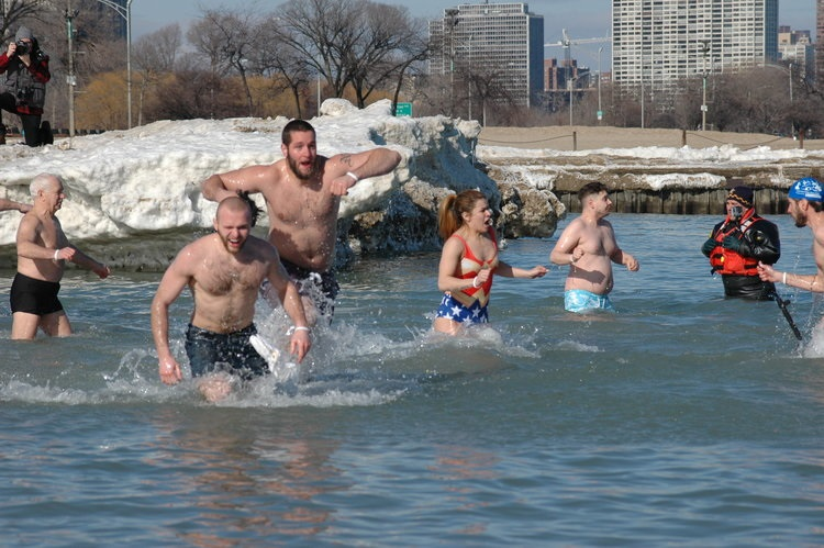 polar plunge chicago 2016