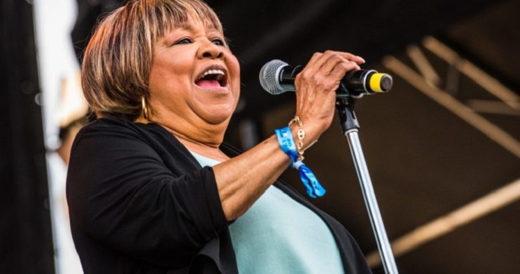 mavis staples at free chicago blues festival