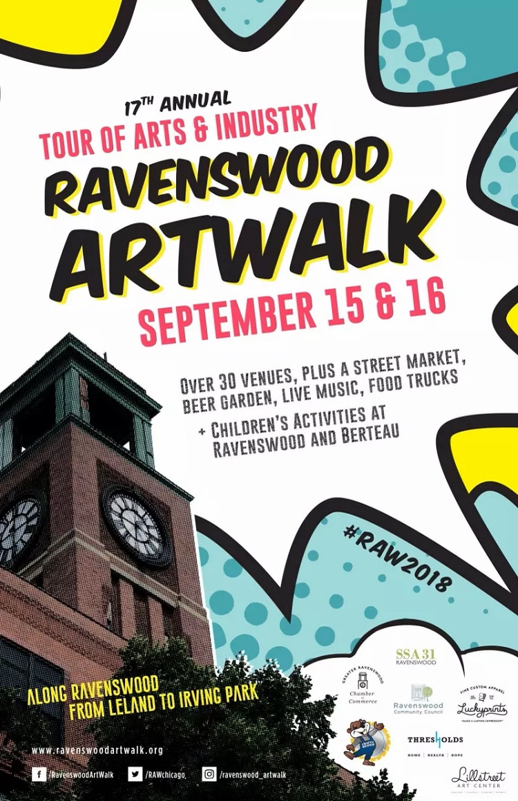 FREE Ravenswood ArtWalk event