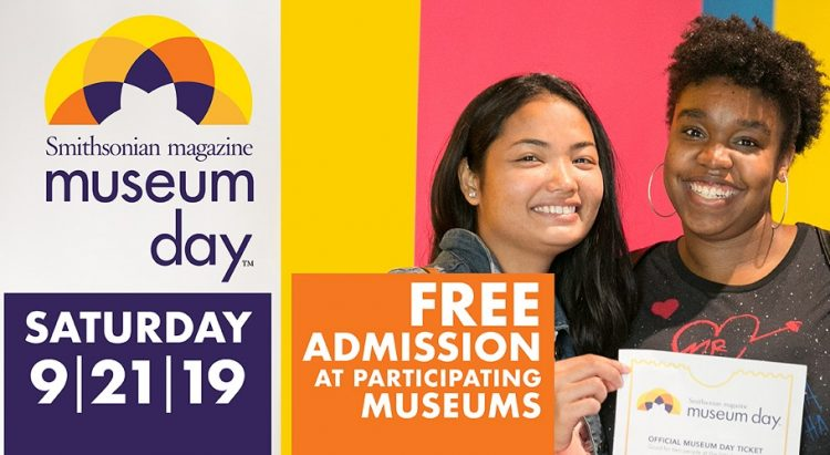 free museum day sept 21, 2019