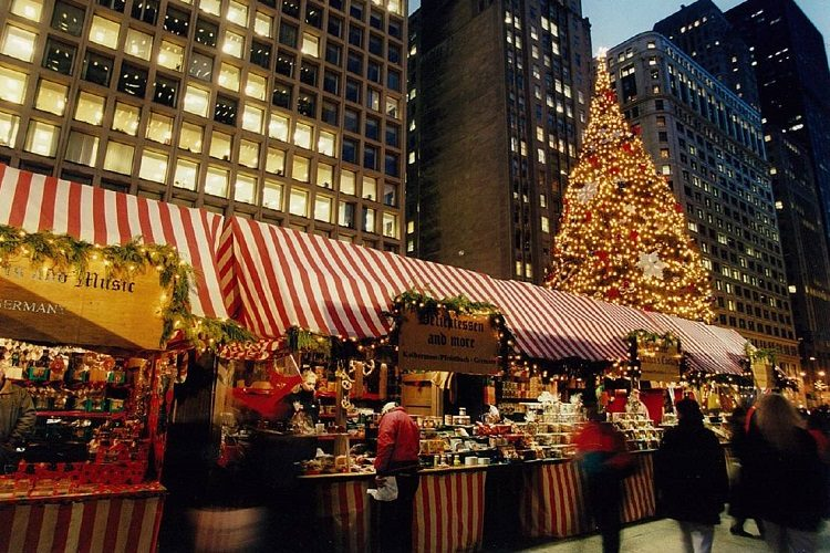 free christmas christkindl chicago