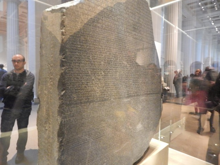 free online museum tours the rosetta stone