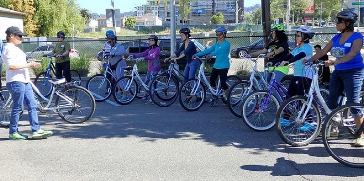 FREE CLASSES ON HOW TO RIDE A BIKE AS AN ADULT