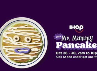 free pancakes-Mr.-Mummy-Ihop
